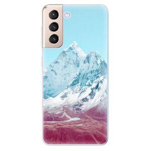 Odolné silikónové puzdro iSaprio - Highest Mountains 01 - Samsung Galaxy S21