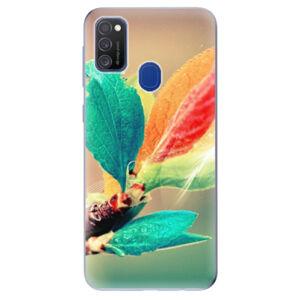 Odolné silikónové puzdro iSaprio - Autumn 02 - Samsung Galaxy M21