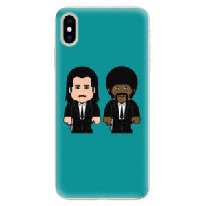 Silikónové puzdro iSaprio - Pulp Fiction - iPhone XS Max