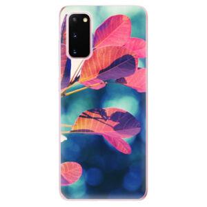 Odolné silikónové puzdro iSaprio - Autumn 01 - Samsung Galaxy S20