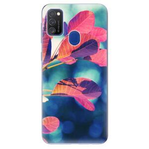 Odolné silikónové puzdro iSaprio - Autumn 01 - Samsung Galaxy M21