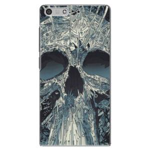 Plastové puzdro iSaprio - Abstract Skull - Huawei Ascend P7 Mini