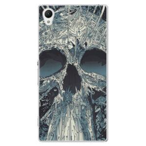 Plastové puzdro iSaprio - Abstract Skull - Sony Xperia Z1