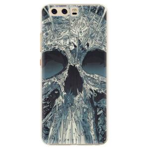 Plastové puzdro iSaprio - Abstract Skull - Huawei P10
