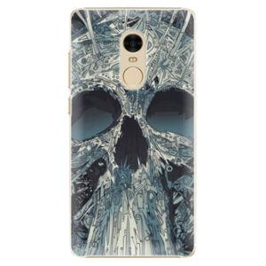 Plastové puzdro iSaprio - Abstract Skull - Xiaomi Redmi Note 4