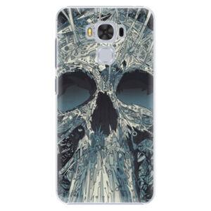 Plastové puzdro iSaprio - Abstract Skull - Asus ZenFone 3 Max ZC553KL