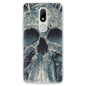 Plastové puzdro iSaprio - Abstract Skull - Lenovo Moto M