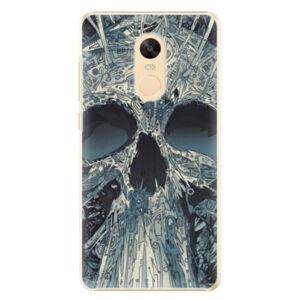 Plastové puzdro iSaprio - Abstract Skull - Xiaomi Redmi Note 4X