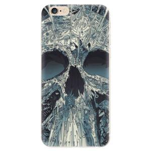 Odolné silikónové puzdro iSaprio - Abstract Skull - iPhone 6/6S