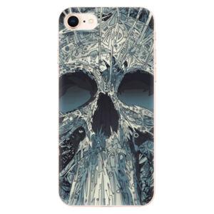 Odolné silikónové puzdro iSaprio - Abstract Skull - iPhone 8