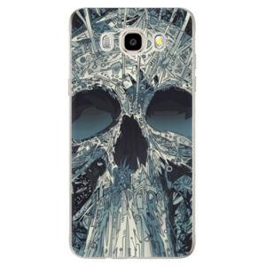 Odolné silikónové puzdro iSaprio - Abstract Skull - Samsung Galaxy J5 2016