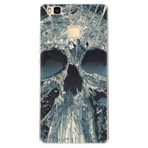 Odolné silikónové puzdro iSaprio - Abstract Skull - Huawei Ascend P9 Lite