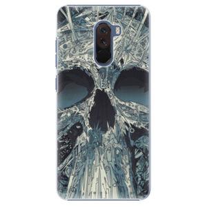 Plastové puzdro iSaprio - Abstract Skull - Xiaomi Pocophone F1