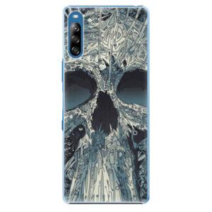 Plastové puzdro iSaprio - Abstract Skull - Sony Xperia L4