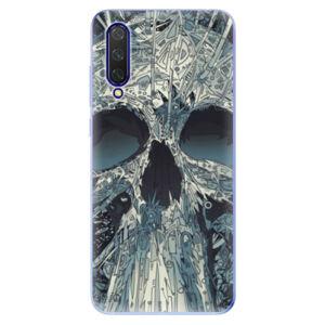 Odolné silikónové puzdro iSaprio - Abstract Skull - Xiaomi Mi 9 Lite