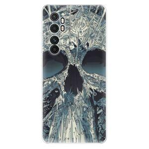 Odolné silikónové puzdro iSaprio - Abstract Skull - Xiaomi Mi Note 10 Lite