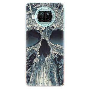Odolné silikónové puzdro iSaprio - Abstract Skull - Xiaomi Mi 10T Lite