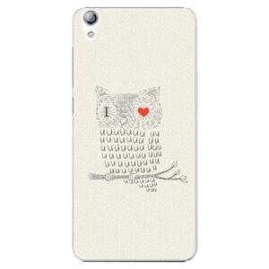 Plastové puzdro iSaprio - I Love You 01 - Lenovo S850