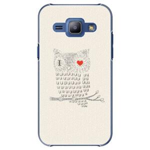 Plastové puzdro iSaprio - I Love You 01 - Samsung Galaxy J1