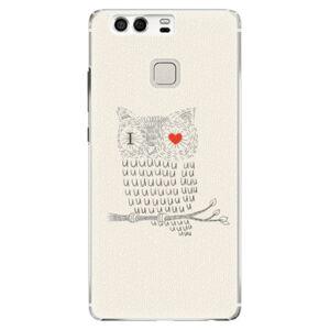 Plastové puzdro iSaprio - I Love You 01 - Huawei P9
