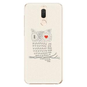 Plastové puzdro iSaprio - I Love You 01 - Huawei Mate 10 Lite