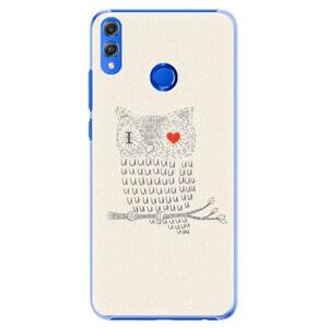 Plastové puzdro iSaprio - I Love You 01 - Huawei Honor 8X