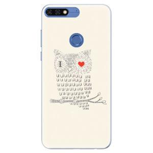 Silikónové puzdro iSaprio - I Love You 01 - Huawei Honor 7C