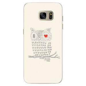 Silikónové puzdro iSaprio - I Love You 01 - Samsung Galaxy S7 Edge