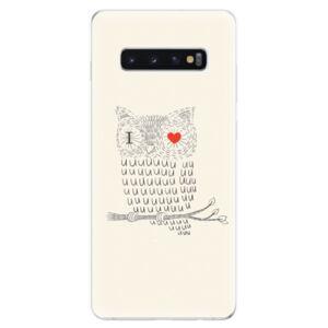 Odolné silikonové pouzdro iSaprio - I Love You 01 - Samsung Galaxy S10+