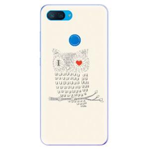 Odolné silikonové pouzdro iSaprio - I Love You 01 - Xiaomi Mi 8 Lite