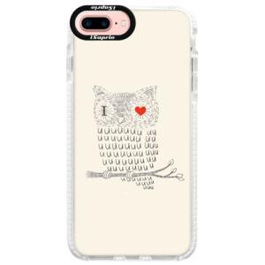 Silikónové púzdro Bumper iSaprio - I Love You 01 - iPhone 7 Plus