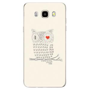 Odolné silikónové puzdro iSaprio - I Love You 01 - Samsung Galaxy J5 2016