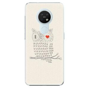Plastové puzdro iSaprio - I Love You 01 - Nokia 7.2