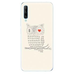 Odolné silikónové puzdro iSaprio - I Love You 01 - Huawei P Smart Pro