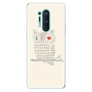 Odolné silikónové puzdro iSaprio - I Love You 01 - OnePlus 8 Pro