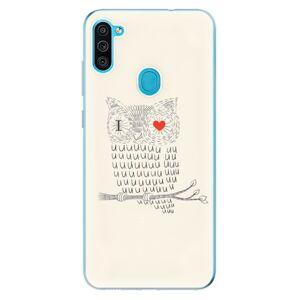 Odolné silikónové puzdro iSaprio - I Love You 01 - Samsung Galaxy M11