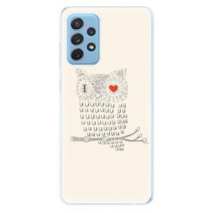 Odolné silikónové puzdro iSaprio - I Love You 01 - Samsung Galaxy A72