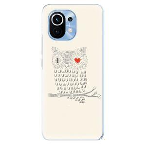 Odolné silikónové puzdro iSaprio - I Love You 01 - Xiaomi Mi 11