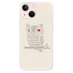 Odolné silikónové puzdro iSaprio - I Love You 01 - iPhone 13 mini