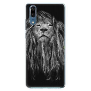 Plastové puzdro iSaprio - Smoke 01 - Huawei P20