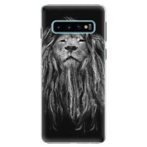 Plastové puzdro iSaprio - Smoke 01 - Samsung Galaxy S10