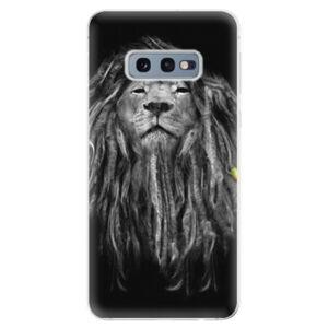 Odolné silikonové pouzdro iSaprio - Smoke 01 - Samsung Galaxy S10e