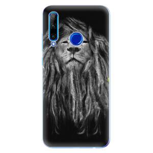 Odolné silikónové puzdro iSaprio - Smoke 01 - Huawei Honor 20 Lite