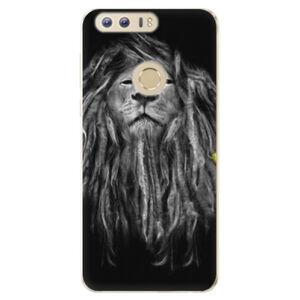 Odolné silikónové puzdro iSaprio - Smoke 01 - Huawei Honor 8