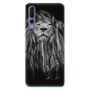 Odolné silikónové puzdro iSaprio - Smoke 01 - Huawei P20 Pro