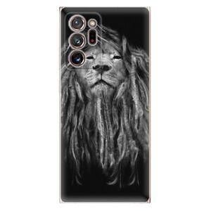 Odolné silikónové puzdro iSaprio - Smoke 01 - Samsung Galaxy Note 20 Ultra
