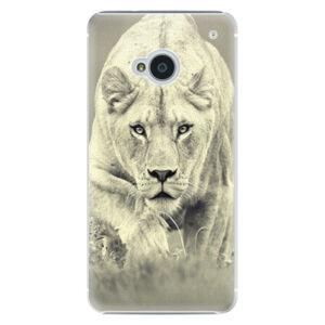 Plastové puzdro iSaprio - Lioness 01 - HTC One M7