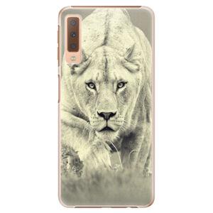 Plastové puzdro iSaprio - Lioness 01 - Samsung Galaxy A7 (2018)