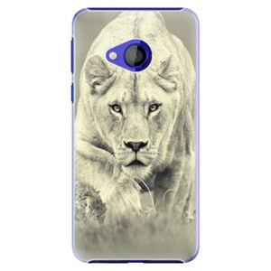 Plastové puzdro iSaprio - Lioness 01 - HTC U Play