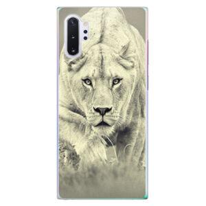 Plastové puzdro iSaprio - Lioness 01 - Samsung Galaxy Note 10+